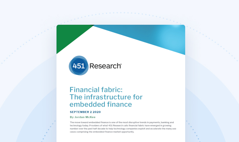 Analyst Report: Financial Fabric - The Trend to Embedded Finance